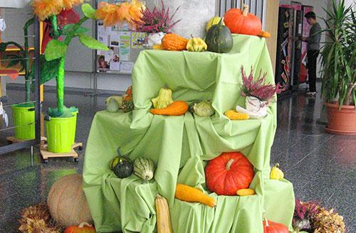 Herbstaltar an der Justus-von-Liebig Schule Aalen
