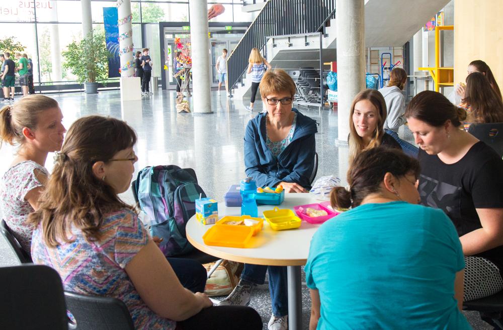 Treffen der Auszubildenden an der Justus-von-Liebig Schule Aalen
