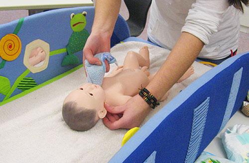 Säuglingspflege lernen an der Justus-von-Liebig Schule Aalen