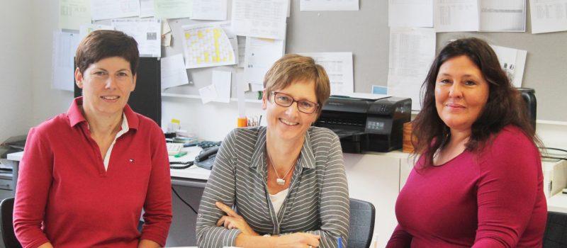 Ansprechpartnerinnen für Unterstützungsangebote an der Justus-von-Liebig Schule Aalen